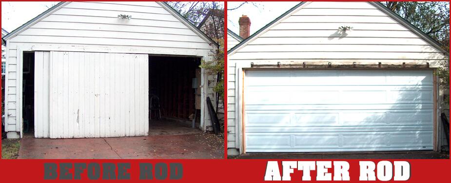 ROSEVILLE OVERHEAD DOOR BEFORE & AFTER 5