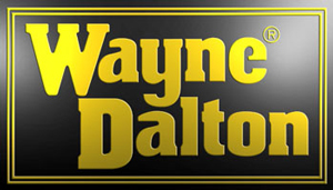 Image of Wayne Dalton logo, Roseville Overhead Door sells and installs Wayne Dalton garage door products