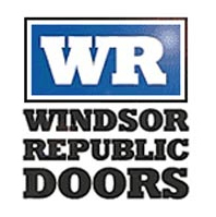 Image of Windsor Republic logo, Roseville Overhead Door sells and installs WR Windsor Republic garage door products