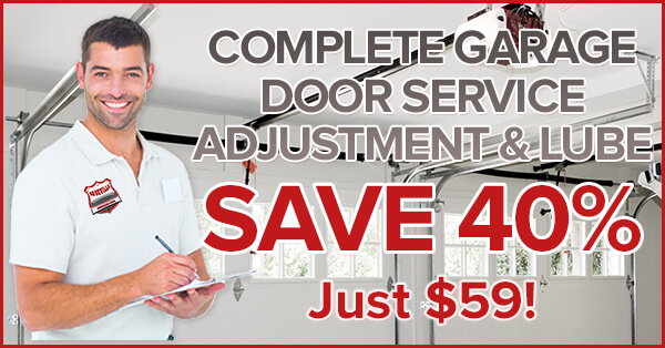 Image of promotion coupon image. COMPLETE GARAGE DOOR SERVICE, LUBE & ADJUSTMENT. Roseville Overhead Door repairs garage doors & overhead doors Roseville CA Rocklin CA Granite Bay CA Lincoln CA Citrus Heights CA. Garage door repair roseville. Roseville Fix Garage Doors. Garage Door Lube. Overhead door adjustment.