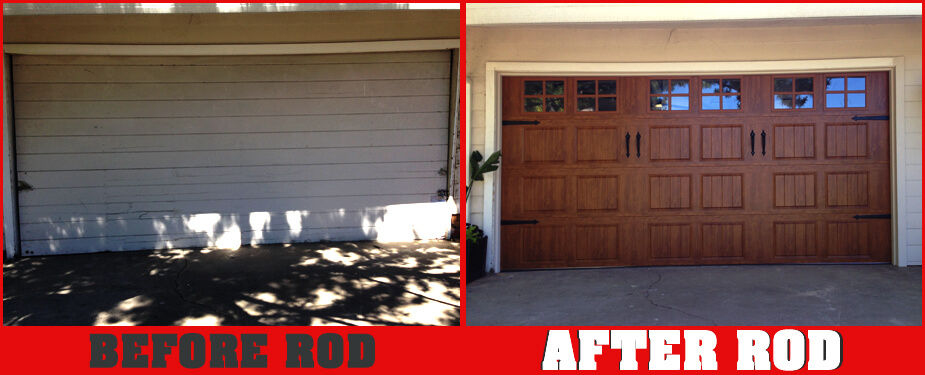 ROSEVILLE OVERHEAD DOOR BEFORE & AFTER 2