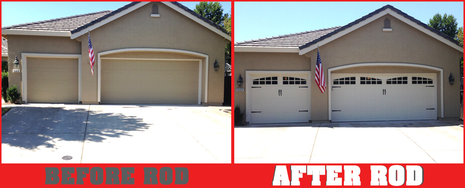 ROSEVILLE OVERHEAD DOOR BEFORE & AFTER 4