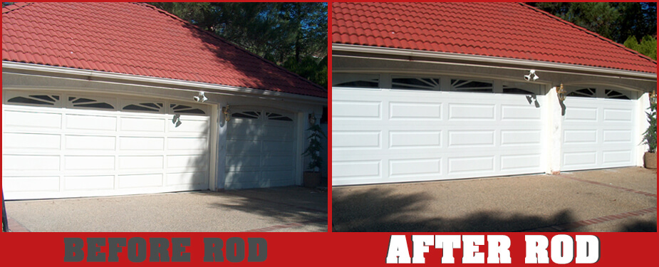 ROSEVILLE OVERHEAD DOOR BEFORE & AFTER 6