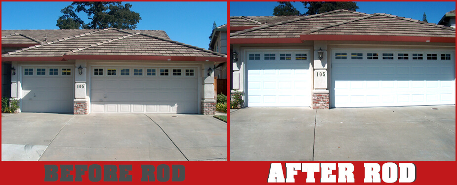 ROSEVILLE OVERHEAD DOOR BEFORE & AFTER 7
