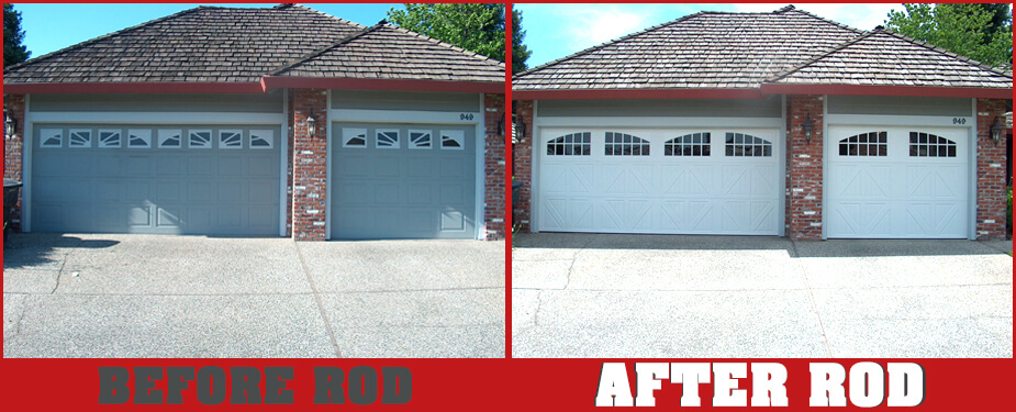 ROSEVILLE OVERHEAD DOOR BEFORE & AFTER 8