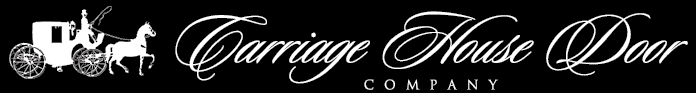 Image of Carriage House Door logo, Roseville Overhead Door sells and installs Carriage House Door garage door products