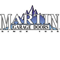 Image of Martin Garage Door logo, Roseville Overhead Door sells and installs Martin Garage Door garage door products